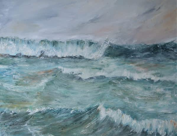 atlantic ocean painting