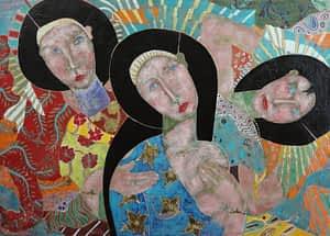 sax berlin painting