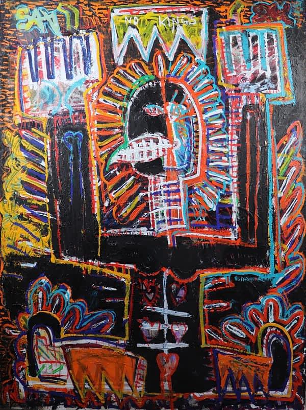 Basquiat neo expressionist