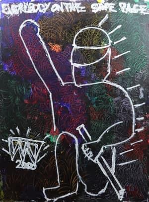 sax berlin street art