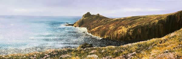 cornish coast painting